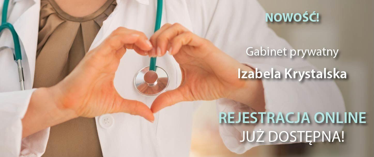 Izabela Krystalska - Gabinet prywatny lekarz rehabilitacji Kalisz